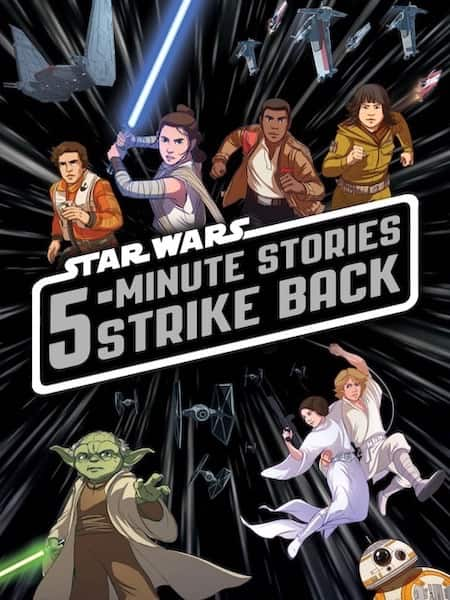 Book cover for 5-Minute Star Wars Stories Strike Back by S.T. Bende
