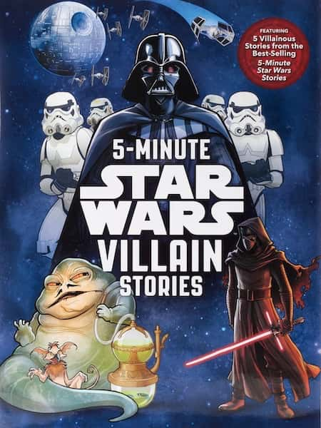 Book cover for 5-Minute Star Wars Villain Stories by S.T. Bende