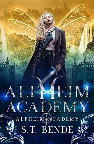 Book cover for Alfheim Academy by S.T. Bende
