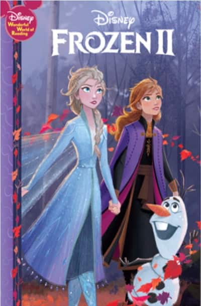 Book cover for Frozen II by Author S.T. Bende