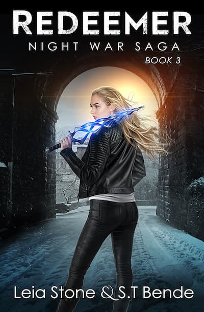 Book cover for Redeemer by S.T. Bende and Leia Stone