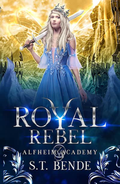 Book cover for Royal Rebel by S.T. Bende