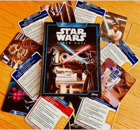 Book cover for Star Wars Epic Adventures: A New Hope + Profile Cards (by S.T. Bende)