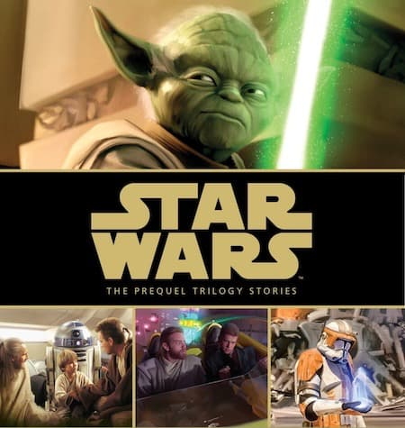 Book cover for Star Wars: The Prequel Trilogy Stories by S.T. Bende