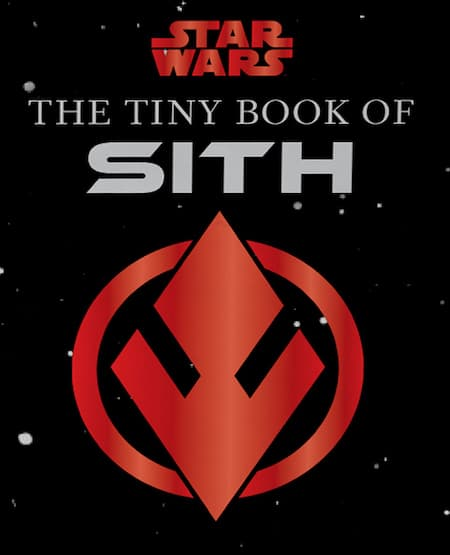 Book cover for The Tiny Book of Sith by S.T. Bende