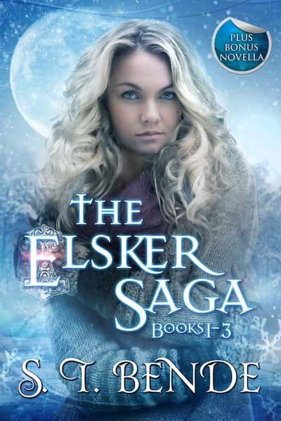 Book cover for The Elsker Saga Boxed Set by S.T. Bende
