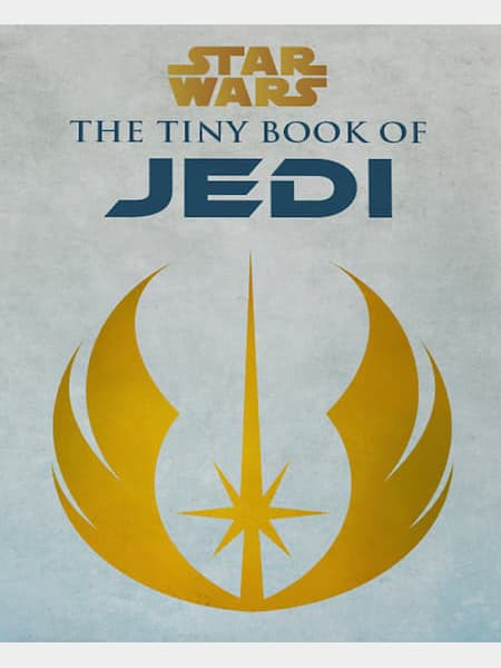 Book cover for The Tiny Book of Jedi by S.T. Bende